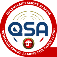 Queensland Smoke Alarms Logo